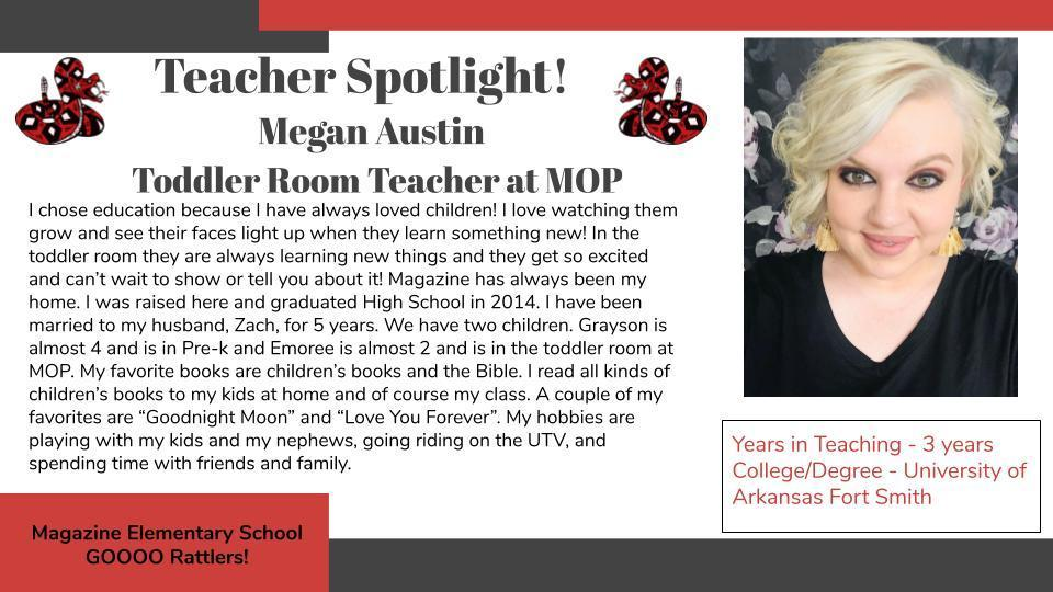 Heart of a Rattler Recognition: Mrs. Austin