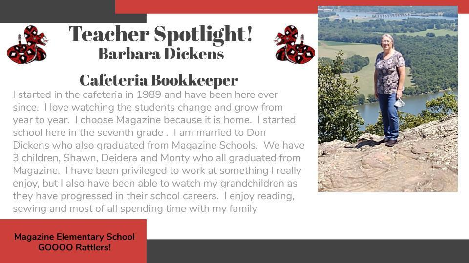 Heart of a Rattler Recognition: Mrs. Dickens