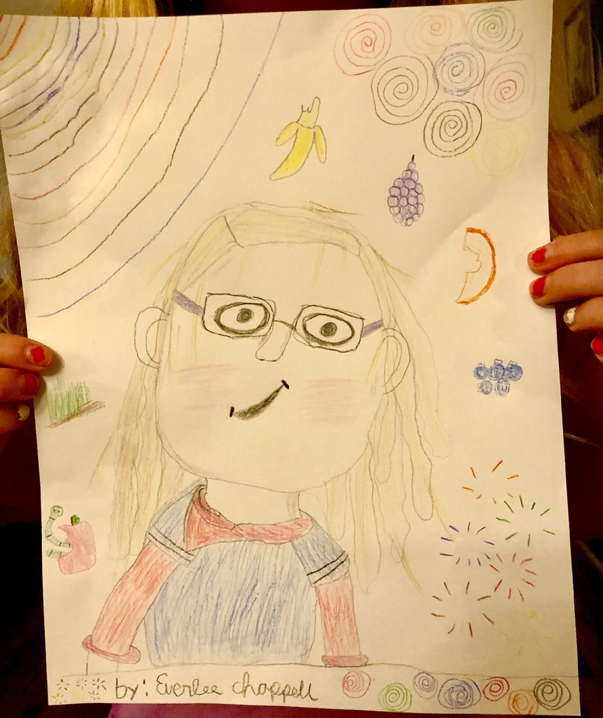 self portrait from an elementary student