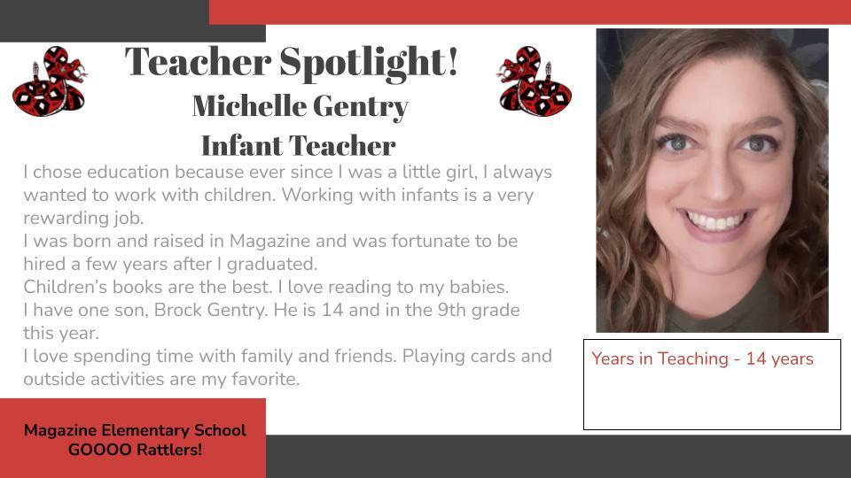 Heart of a Rattler Recognition: Ms. Gentry