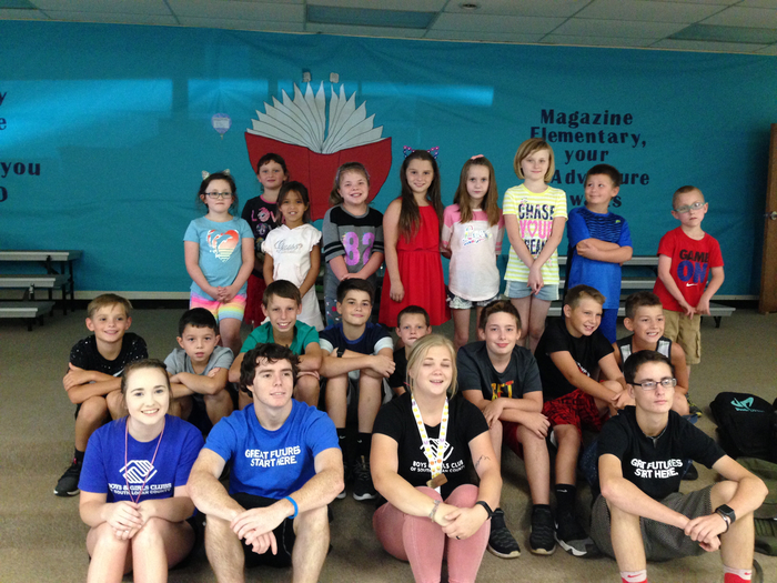 Boys and Girls Club first day picture