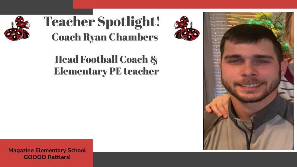 Heart of a Rattler Recognition: Coach Chambers