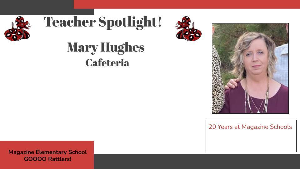 Heart of a Rattler Recognition: Mrs. Mary