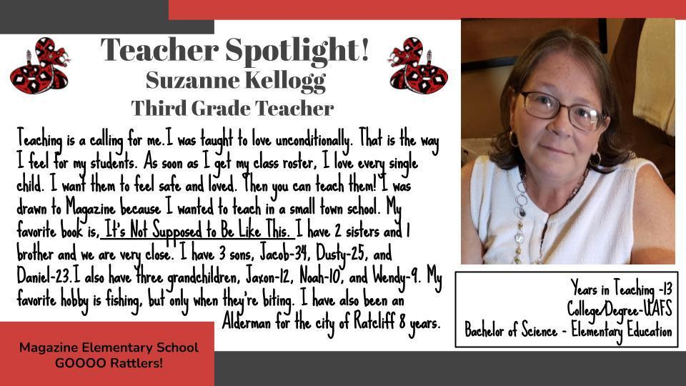 Heart of a Rattler: Mrs. Kellogg