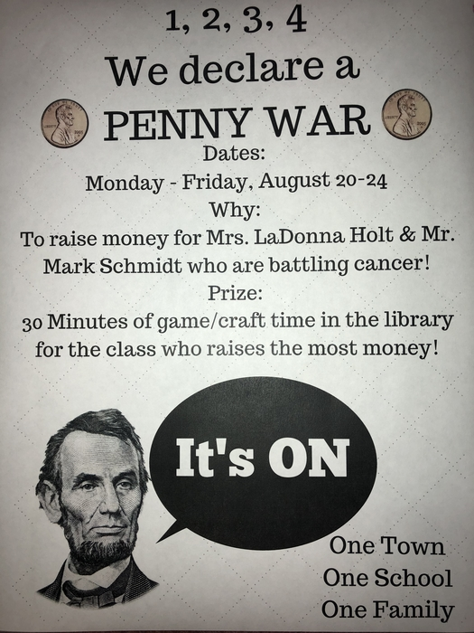Penny War Flyer