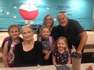 Grandparents'Day Breakfast for Pre-K, Kindergarten, and 1st grade was a success!