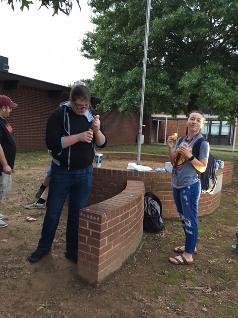 students at See You at the Pole
