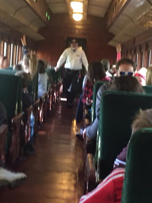 Fourth grade Train Excursion