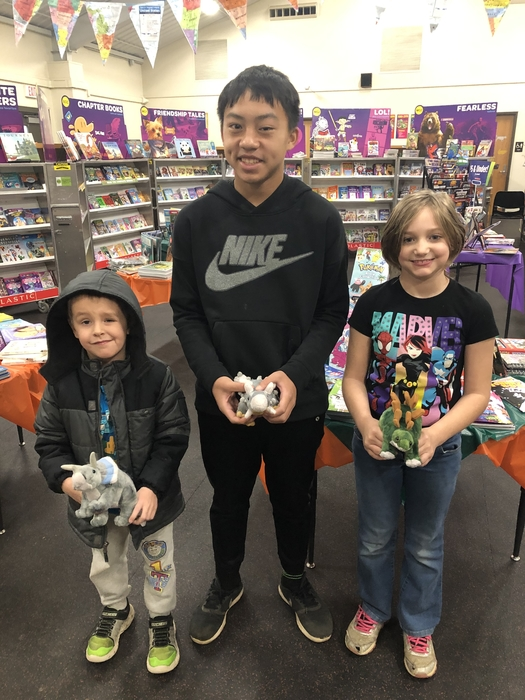 Book Fair winners