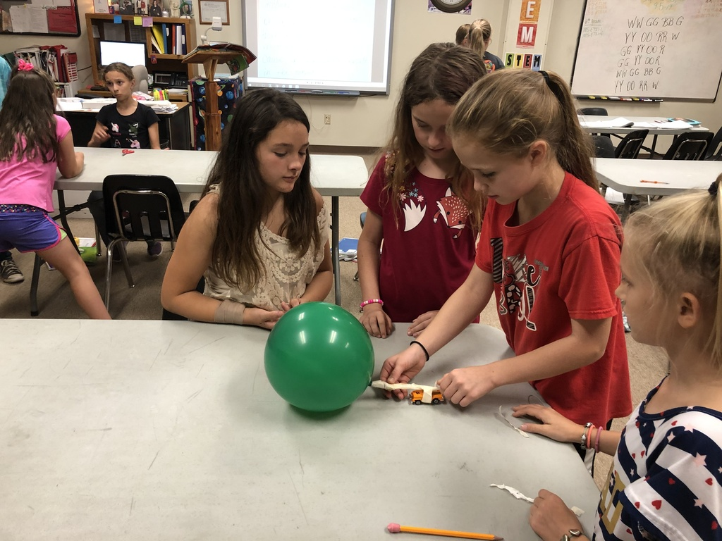 5th grade Balloon Car Competition