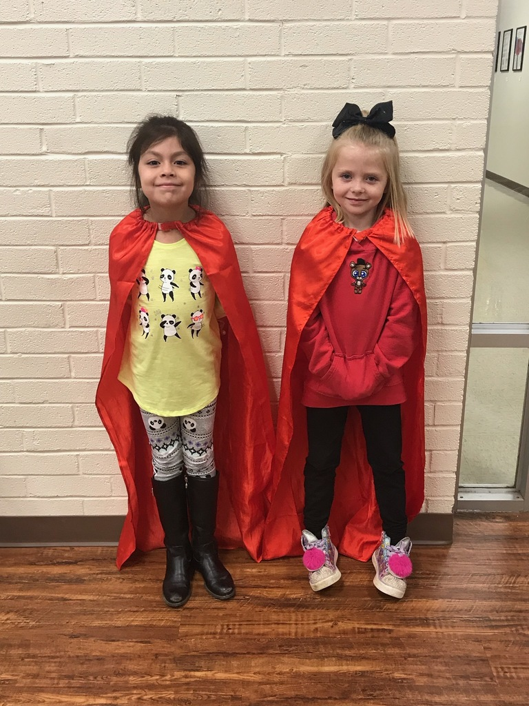 Mrs. Young's 1st-grade I-Station Heroes  Ashton Taylor --highest Reading score for November. Zoey Morgan -- the biggest increase in Reading score for the month of November.
